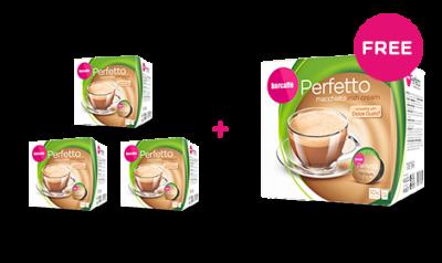 Barcaffe Perfetto Macchiato Irish Cream 140G 3+1 FREE